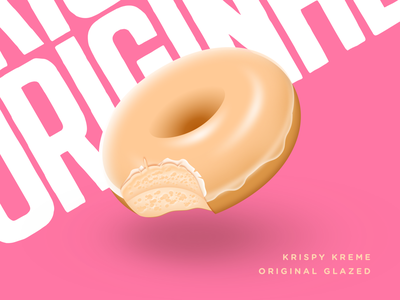 Krispy Kreme original glazed doughnut krispy kreme doughnut