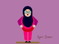 Girl On Hijab
