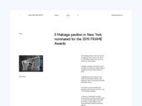 Zaha Hadid Architects — News Article