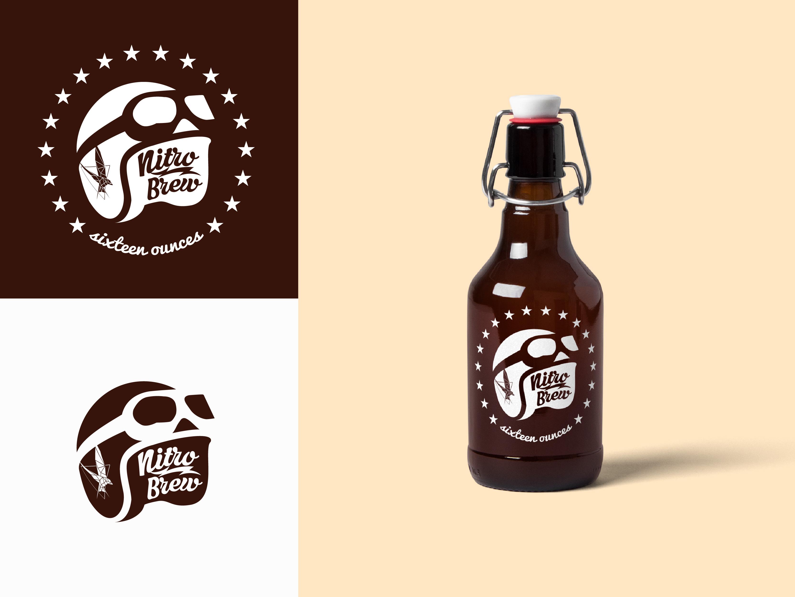 Nitro Brew - Logo | Search by Muzli