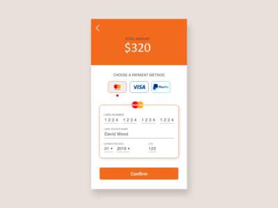 Daily UI - #2 Credit Card Checkout