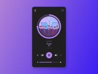 Daily UI - #9 Music Player