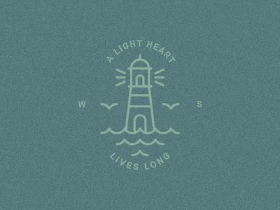 """A light heart lives long"" — William Shakespeare"