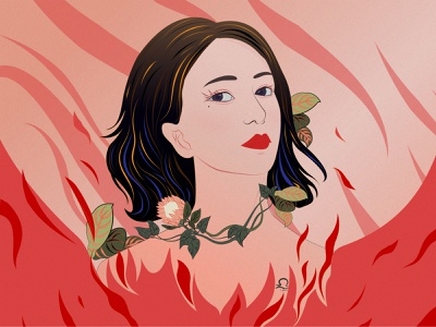 libra design debut painting new illustration