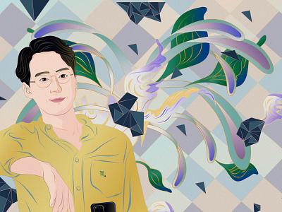 scorpio scorpio constellation design debut new painting illustration