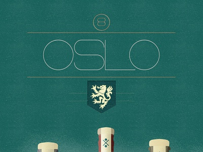 Oslo (Free Font) free font alphabet color colour experimental graphic illustration letters typography