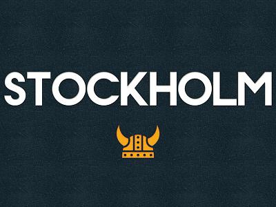 Stockholm (Free Font) alphabet color colour experimental font free graphic illustration letters type typography