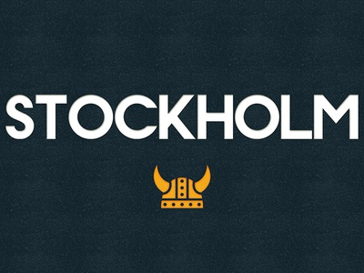 Stockholm (Free Font) alphabet color colour experimental font free graphic illustration letters type typography
