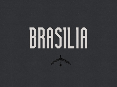 Brasilia  (Free Font Family) alphabet color colour experimental font free graphic illustration letters type typography