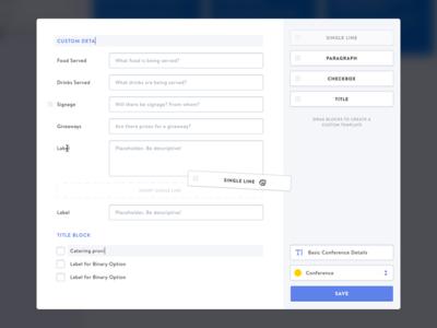 Customize Form Template