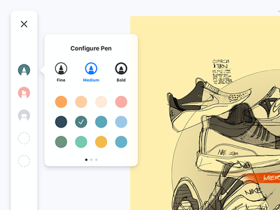 Sketching UI for iPad