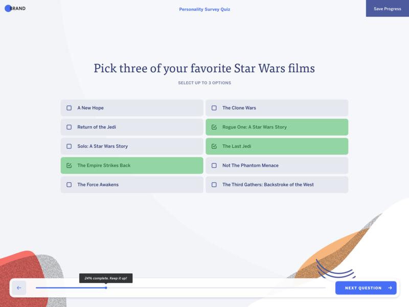 Multiple Choice Survey Question