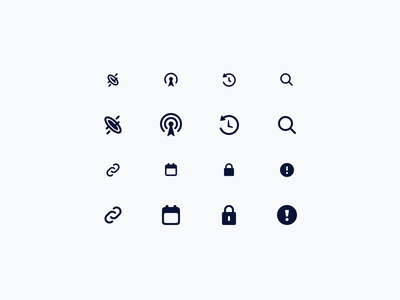 Hologram Icons icons pack icons set lineart illustration icon set iconset icons