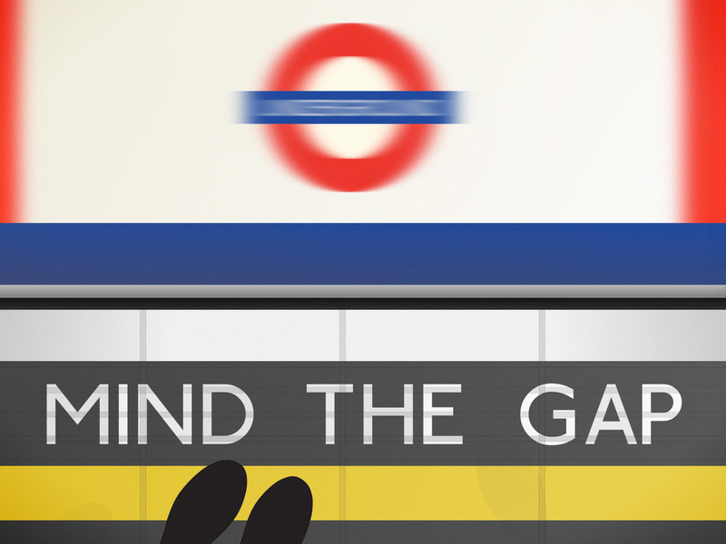Mind the gap moving
