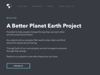 A Better Planet Earth Project.