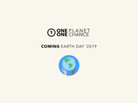 One Planet One Chance Teaser
