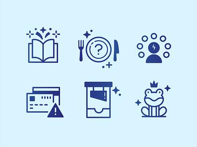 Miscellaneous Activities Icon Set adobe illustrator gradient icon gradient flat design icon icon set iconography graphic design logo design vector illustration