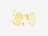 Mermaid & Bear