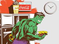 Hulk. Midnight Munchies