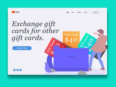 Gift Exchange HomePage