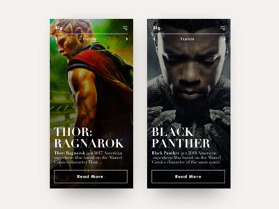 Movie Blog App
