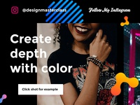 Create depth with color