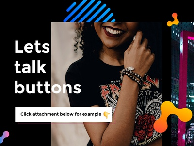 Lets talk buttons (click attachments for tips)