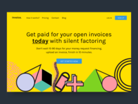 Invoice Landing Page