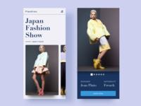 Fashion App (Free Sketch File)