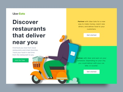 Uber Eats (Redesign)