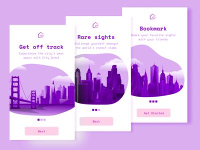 Travel App On-Boarding (Free Download)