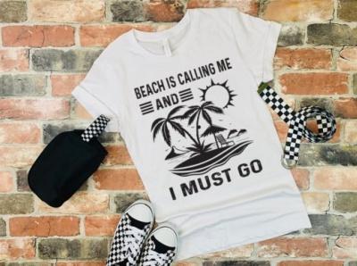 Beach Tshirt Design including svg, eps and png branding logo tshirtdesign vector tshirt vector typography design free illustration teespring