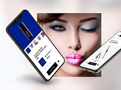 Semilac E-commerce Platform ux design ui design nail art website design magento 2 e-commerce shop e-commerce website e-commerce design e-commerce redesign