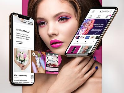 Semilac E-commerce Platform nail art magento 2 strix redesign e-commerce agency e-commerce website e-commerce design e-commerce shop e-commerce ui design ux design