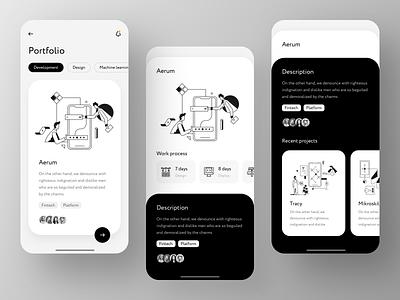 Exyte Mobile App – Case Study case portfolio virtual app mobile dev development crypto blockchain vr ar agency