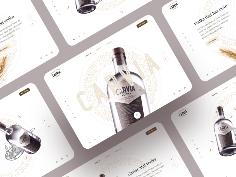 Carvia – Layout slides caviar original recipe carvia handmade spice france craft drinking artisanal bottle vodka alcohol