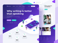 Sherlock – Landing page sherlock products isometric chatbots chatbot communication messenger platform bots chat