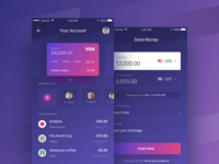 FinancialApp Send Money