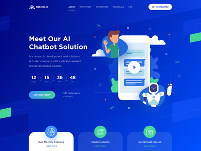 Melior – Hero Block blockchain ico e-commerce artificial intelligence machine learning chatbot ai