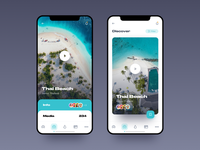 Travel App – Manage tours manage touristic app vacation trip ocean travel tours