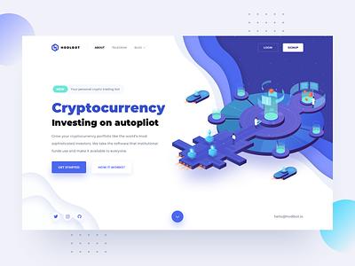 HodlBot – Hero block investement coin binance market ico blockchain eth btc bitcoin platform investing cryptocurrency trading crypto