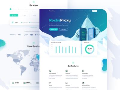 RProxy - Landing page