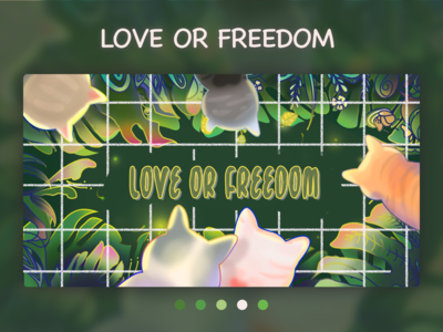 LOVE OR FREEDOM