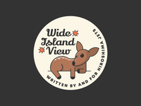 Wide Island View Pin Design #1