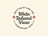 Wide Island View Pin Design #2