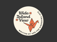 Wide Island View Pin Design #3