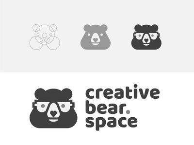 creativebear.space visual identity
