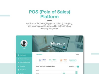 POS (Point of Sales) User Interface