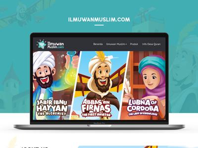 Ilmuwan Muslim Website Official