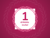 Dribbble invite giveaway!